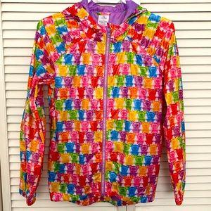 Rainbow Mickey Gummie Bear Raincoat